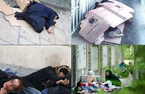 تهران ۲هزار زن کارتن خواب دارد؟!