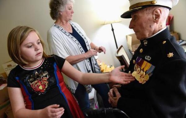 نامه ولنتاین برای سرباز آمریکایی,اخبار جالب,خبرهای جالب,خواندنی ها و دیدنی ها