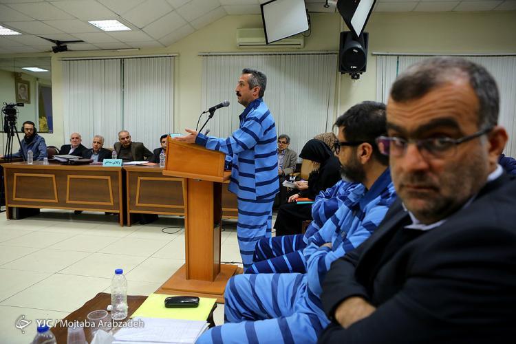 تصاویر دادگاه پرونده های اقتصادی,عکس های دادگاه مرتضی فلاح اشتری,تصاویر حمیدرضا مرادی