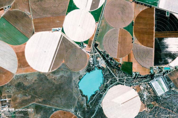 تصاویر ماهواره ای گوگل ارث از زمین,عکس های ماهواره ای گوگل ارث از زمین,تصاویر نقاط مختلف کره زمین