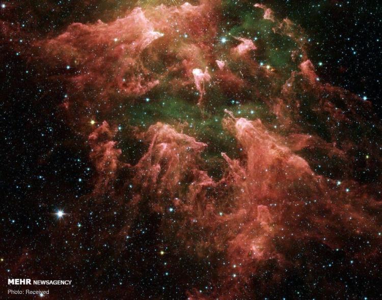 تصاویر از کهکشان,عکس های تلسکوپ فضایی اسپیتزر,تصاویر از تلسکوپ فضایی جیمز وب