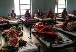 وضعیت زندگی در گرمخانه بانوان,اخبار اجتماعی,خبرهای اجتماعی,آسیب های اجتماعی