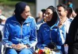 کیمیا علیزاده و مهرو کمرانی,اخبار ورزشی,خبرهای ورزشی,ورزش بانوان