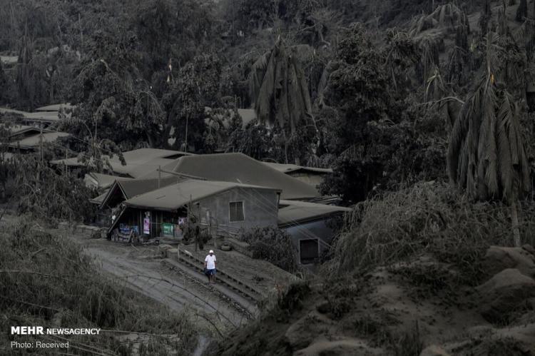 تصاویر فوران مرگبارترین آتشفشانهای فیلیپین,عکس های فوران مرگبارترین آتشفشانهای فیلیپین,تصاویر فوران آتشفشان در فیلیپین