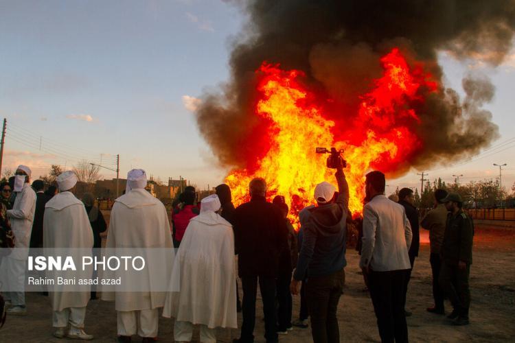 تصاویر جشن سده,عکس های جشن سده در کرمان,تصاویر جشن سده در یزد