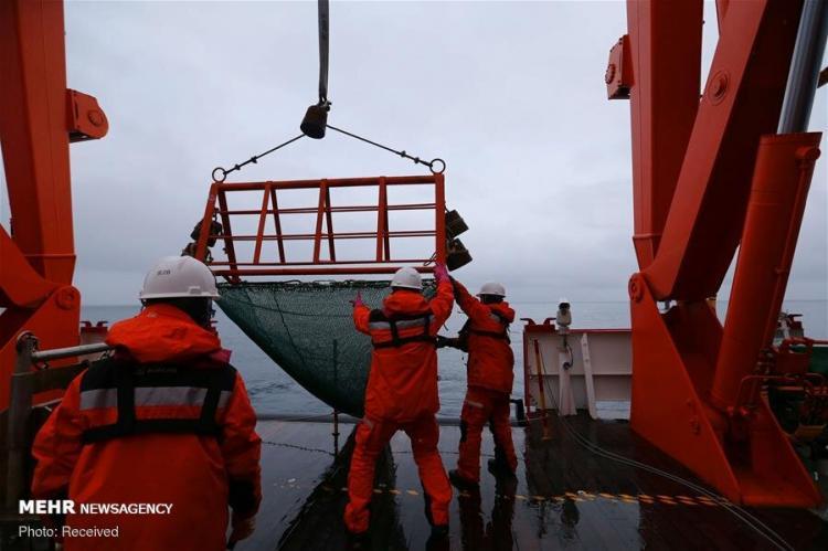 تصاویر تیم اعزامی چین به قطب جنوب,عکس های تیم اعزامی چین به قطب جنوب,تصاویر قطب جنوب