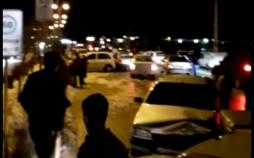 تصادف زنجیرهای ۲۰ دستگاه خودرو در بلوار شهید هرمزپور یاسوج,اخبار حوادث,خبرهای حوادث,حوادث