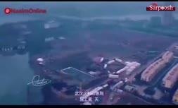 فیلم/ سرعت عمل چینیها در ساخت بیمارستانی برای مقابله با ویروس کرونا