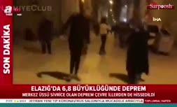 فیلم/ زلزله 6.8 ریشتری در ترکیه