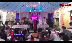 فیلم/ اقدام عجیب پدر داماد، مراسم عروسی را به هم ریخت!