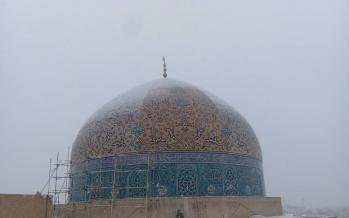 نحوه مرمت گنبد مسجد شیخ لطفالله,اخبار فرهنگی,خبرهای فرهنگی,میراث فرهنگی