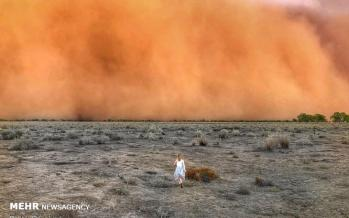تصاویر بارش تگرگ و طوفان شن در استرالیا,عکس های بارش تگرگ و طوفان شن در استرالیا,تصاویر طوفان شن