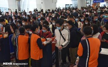 تصاویر قرنطینه مردم شهر ووهان چین,عکس های قرنطینه مردم شهر ووهان چین,تصاویر شیوع ویروس کرونا در چین