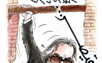 کارتون حمله شهاب حسینی به مسعود کیمیایی,کاریکاتور,عکس کاریکاتور,کاریکاتور هنرمندان