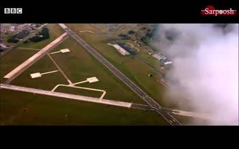 فیلم/ درگ مک لارن اسپیدتیل و جنگنده F-35 توسط TOP GEAR