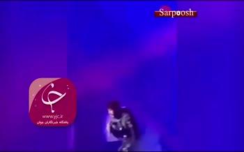 فیلم/ حرکات عجیب «مهراد جم» در نخستین کنسرتش