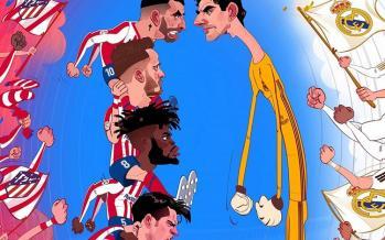 کاریکاتور تیم رئال مادریدِ,کاریکاتور,عکس کاریکاتور,کاریکاتور ورزشی