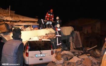 تصاویر زلزله ترکیه,عکس های زلزله ترکیه,تصاویر خسارات زمین لرزه ترکیه