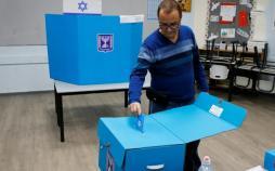تصاویر انتخابات پارلمانی اسرائیل,عکس های انتخابات پارلمانی اسرائیل,تصاویر بنیامین نتانیاهو