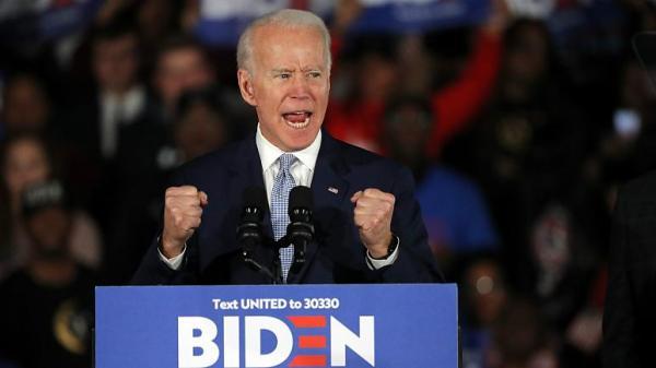 پیروزی جو بایدن در انتخابات درون حزبی,اخبار سیاسی,خبرهای سیاسی,اخبار بین الملل