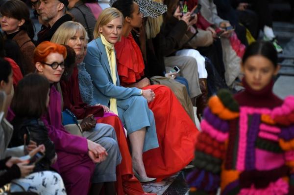 حضور چهرههای مشهور در هفته مد لندن,اخبار هنرمندان,خبرهای هنرمندان,اخبار بازیگران