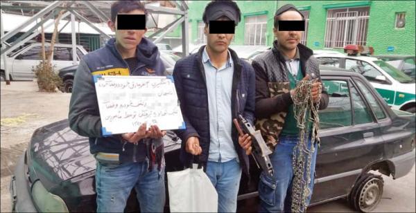 دستگیری دزدان هپروتی,اخبار حوادث,خبرهای حوادث,جرم و جنایت