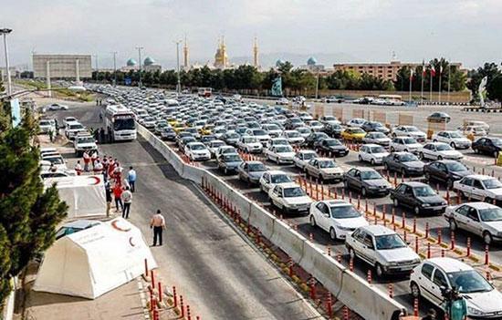 ترافیک در خیابان ها,اخبار اجتماعی,خبرهای اجتماعی,وضعیت ترافیک و آب و هوا
