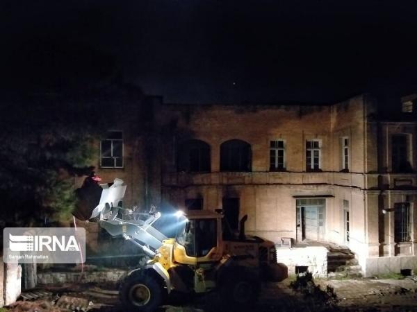 بیمارستان مسیح کرمانشاه,اخبار فرهنگی,خبرهای فرهنگی,میراث فرهنگی