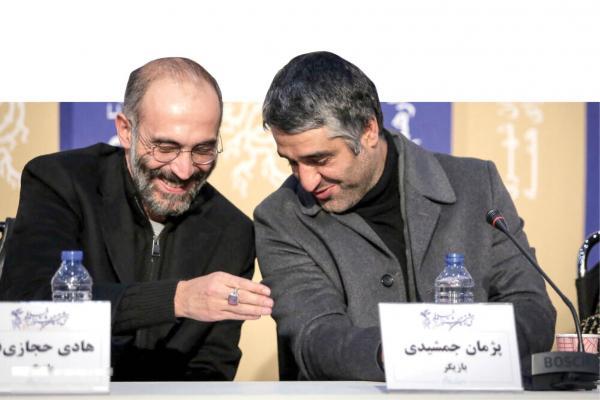 هادی حجازیفر و پژمان جمشیدی,اخبار هنرمندان,خبرهای هنرمندان,اخبار بازیگران