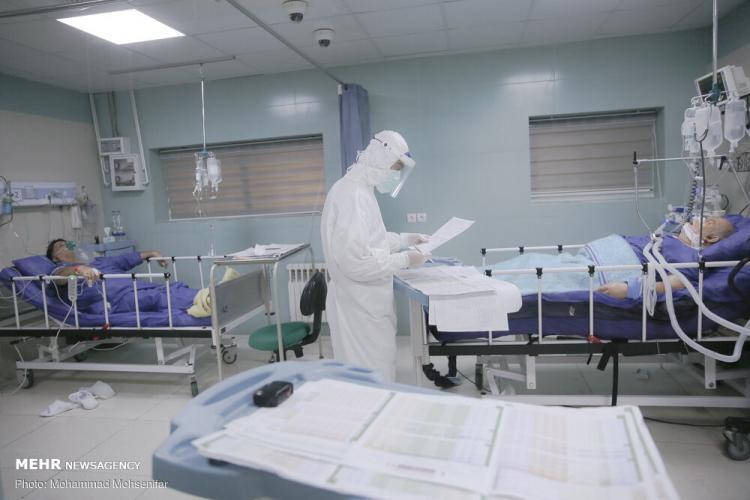 تصاویر بخش ویژه کرونا در بیمارستان هاجر,عکس های بخش ویژه کرونا در بیمارستان هاجر,تصاویر بیمارستان هاجر