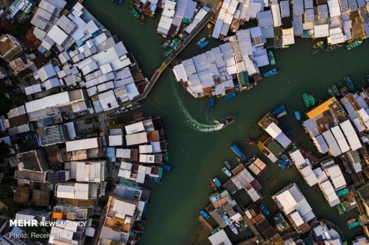تصاویر هوایی از هنگ کنگ,عکس های دیدنی از هنگ کنگ,عکس های زیبا از هنگ کنگ