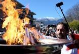 تعویق مراسم حمل مشعل المپیک 2020