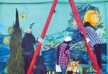 نقاشی های روی دیوارهای زاهدان,اخبار هنرهای تجسمی,خبرهای هنرهای تجسمی,هنرهای تجسمی