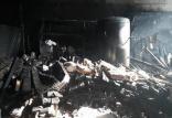 آتش سوزی مجتمع مسکونی سحر در قم,اخبار حوادث,خبرهای حوادث,حوادث امروز
