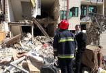 انفجار در یک منزل مسکونی در بومهن,اخبار حوادث,خبرهای حوادث,حوادث امروز