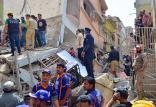 ریزش ساختمان مسکونی در کراچیپاکستان,اخبار حوادث,خبرهای حوادث,حوادث امروز
