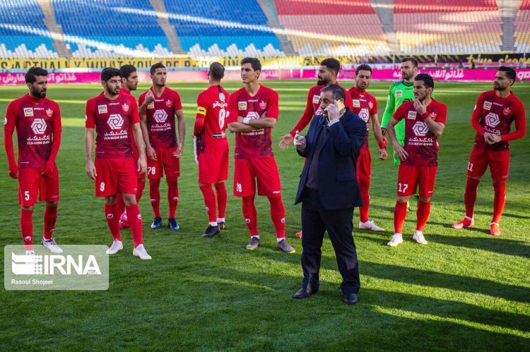 تصاویر هفته بیست رقابتهای لیگ برتر,عکس های دیدارهای لیگ برتر,تصاویر لغو دیدار تیم های سپاهان و پرسپولیس