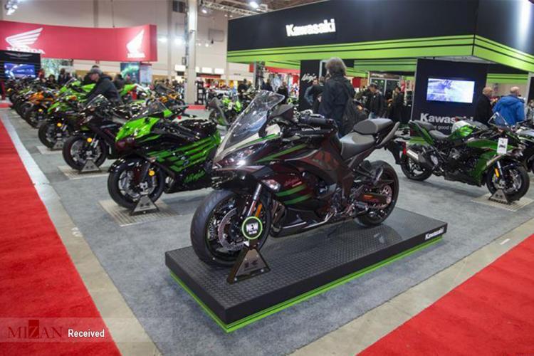 تصاویر نمایشگاه موتور سیکلت در تورنتو,عکس های نمایشگاه موتور سیکلت در تورنتو,تصاویر انواع موتور سیکلت