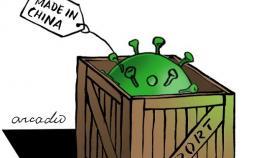 کاریکاتور ویروس کرونا,کاریکاتور,عکس کاریکاتور,کاریکاتور اجتماعی