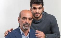 حسن یزدانی و پدرش,اخبار ورزشی,خبرهای ورزشی,کشتی و وزنه برداری