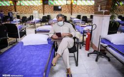 تصاویر نقاهتگاه بیماران بهبود یافته کرونا,عکس های نقاهتگاه بیماران بهبود یافته کرونا,تصاویر بیمارستان بقیه الله