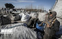 تصاویر خرید و فروش زباله در اطراف تهران,عکس های خرید و فروش زباله,تصاویر فقر در ایران