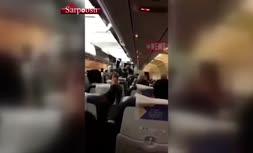 فیلم/ اتفاق عجیب در فرودگاه ترکیه؛ تاجر ترک به خاطر ایرانیها از پرواز پیاده نشد!