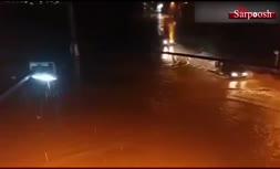فیلم/ نورآباد در محاصره سیلاب