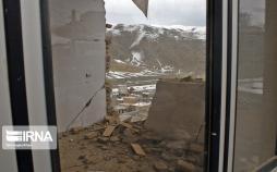 تصاویر خسارات زمین لرزه در بخش قطور خوی,عکس های خسارات زمین لرزه در بخش قطور خوی,تصاویر زلزله