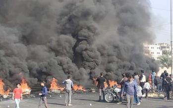 درگیری معترضان با پلیس در بغداد,اخبار سیاسی,خبرهای سیاسی,خاورمیانه