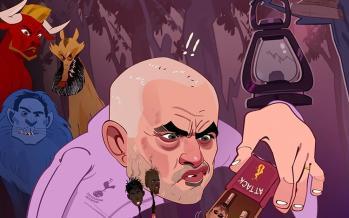 کارتون ژوزه مورینیو,کاریکاتور,عکس کاریکاتور,کاریکاتور ورزشی