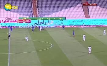 فیلم/ خلاصه دیدار استقلال تهران 2-1 ذوب آهن (لیگ نوزدهم)