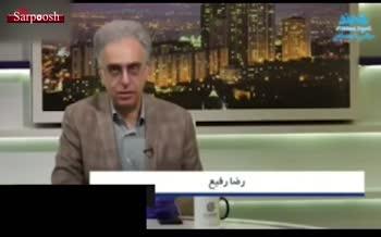 فیلم/ فرار رضا رفیع از سرفه مهمان برنامه، همراه با کنایه به حریرچی