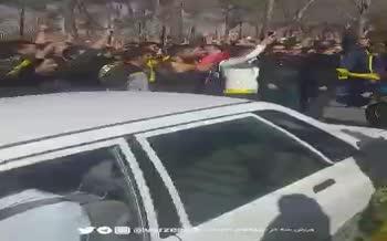ویدئو/ تجمع هواداران سپاهان مقابل هتل